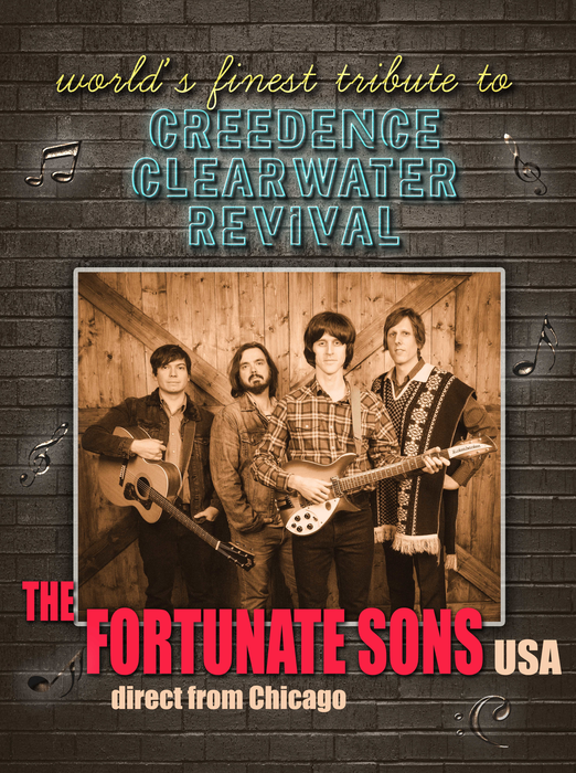 Fortunate Sons (USA) - A tribute to CCR